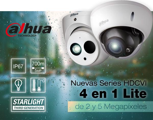 Dahua HDCVI 4 en 1 Lite