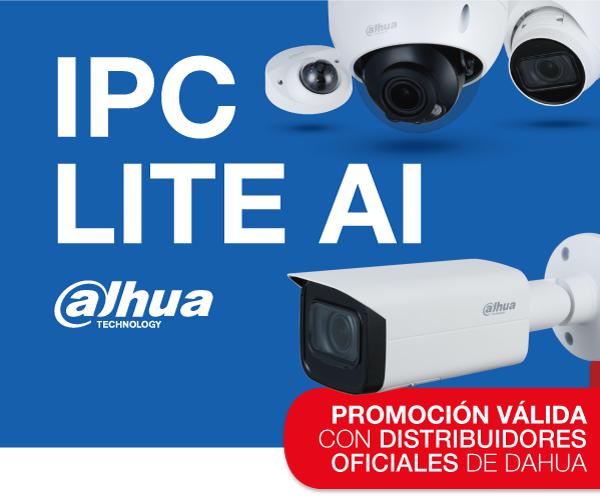 ¡Participa en la promoción de cámaras IP LITE AI DAHUA!