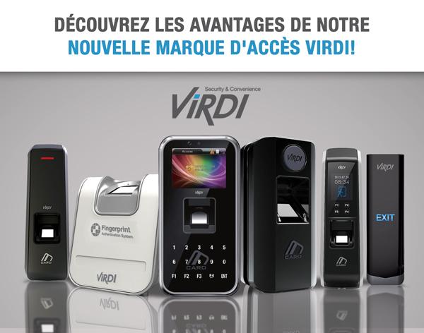 Découvrez les avantages de notre nouvelle marque d'accès VIRDI!