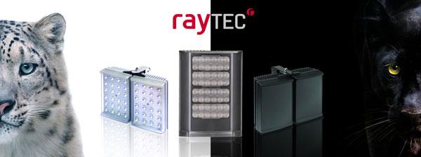 Focos de iluminación nocturna Raytec