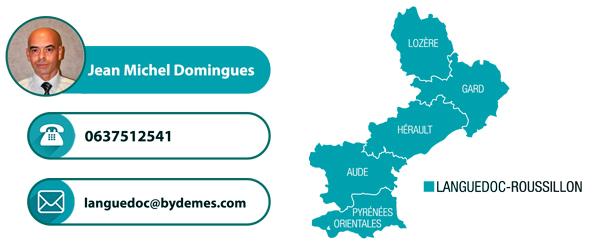 Communiqué de nouvelle assistance commerciale pour la région de Languedoc-Roussillon